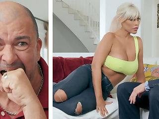 Big-breasted kirmess MILF fucking her hubby's boss