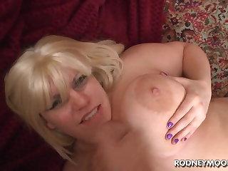 Blonde BBW Tiffany Blake Big Beamy Tits POV
