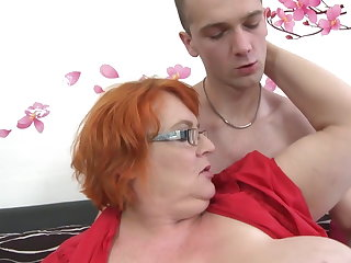 Granny SSBBW fucked by youngsters