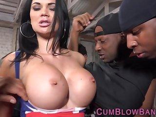 Black guys love big juicy boobs