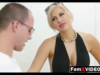 Steamy mommy pummels son-in-law and trains daughter-in-law - Total Free Old lady Hump Movies at FamXvideos.com