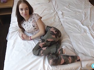 Beautiful Russian Teen be advisable for 1 takes a chunky cock and an incredible facial.