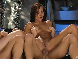 Nice swingers action there slutty wives Daria Glower and Nataly