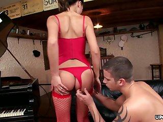 Tommy Steel fucks his best friend's wife in the ass