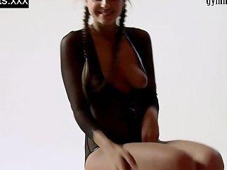 Hot Russian gymnast Melena Tara